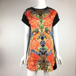 MINKPINK Flower Print Tunic Top Dress